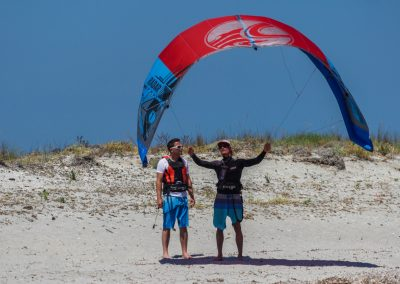 The basic kite control