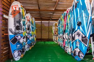 Tabou boards for windsurfing